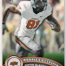 2012 Upper Deck Rookie Exclusives Justin Blackmon