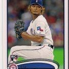 2012 Topps Update Rookie Debut Yu Darvish