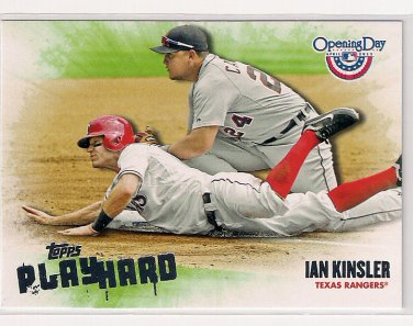 2013 Topps Opening Day Play Hard Ian Kinsler