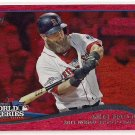2014 Topps Red Foil World Series Game 1 Mike Napoli