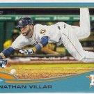2013 Topps Update Wal-Mart Blue Border Jonathan Villar Rookie