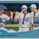 2013 Topps Update Wal-Mart Blue Border Blake Parker Rookie