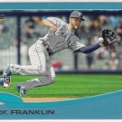 2013 Topps Update Wal-Mart Blue Border Nick Franklin Rookie