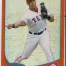 2013 Topps Chrome Orange Refractor Adrian Beltre