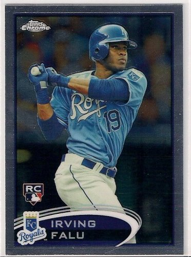 2012 Topps Chrome Irving Falu Rookie
