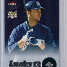 2007 Ultra Lucky 13 Ryan Braun Rookie