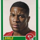 2013 Score 25th Anniversary Knile Davis Rookie