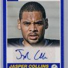 2013 Score Blue Jasper Collins Rookie Auto