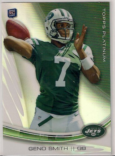 2013 Topps Platinum Geno Smith Rookie