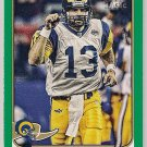 2013 Topps Magic Green Mini Kurt Warner