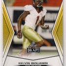 2014 Leaf Draft Gold Kelvin Benjamin Rookie
