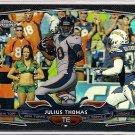 2014 Topps Chrome Black Refractor Julius Thomas 025/299