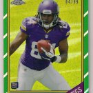 2013 Topps Chrome Refractor 1986 Cordarrelle Patterson Rookie 64/99