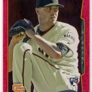 2014 Topps Red Foil Heath Hembree Rookie