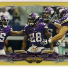 2014 Topps Gold Minnesota Vikings 0220/2014