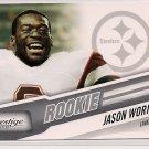 2010 Prestige Jason Worilds Rookie