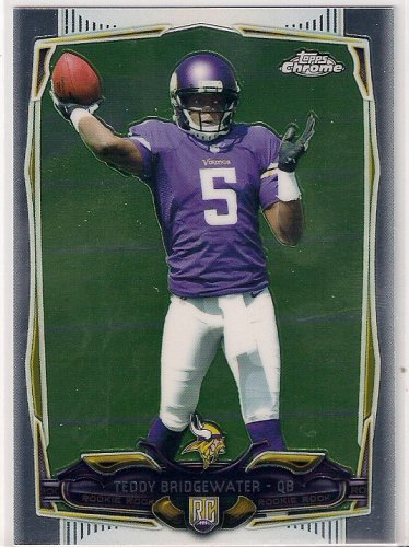 2014 Topps Chrome Teddy Bridgewater Rookie