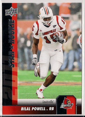 2011 Upper Deck Star Rookie Bilal Powell