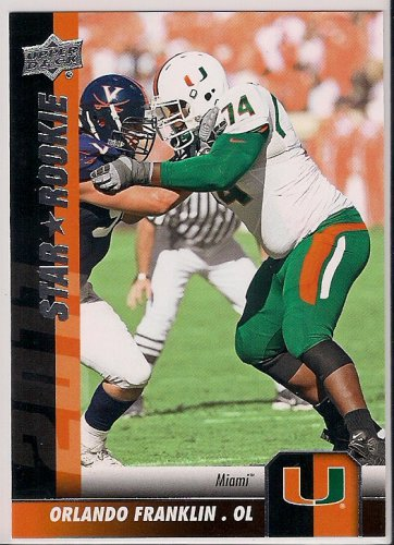 2011 Upper Deck Star Rookie Orlando Franklin