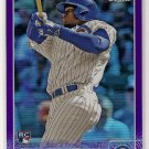 2015 Topps Chrome Purple Refractor Jorge Soler Rookie 160/250