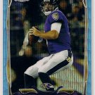 2014 Topps Chrome Blue Wave Refractor Joe Flacco