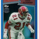 2015 Topps 60th Anniversary Blue Foil Deion Sanders