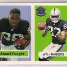 2015 Topps 60th Anniversary Throwback Amari Cooper Rookie