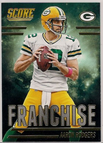 2014 Score Franchise Gold Aaron Rodgers