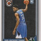 2015-16 Panini Complete Silver Karl-Anthony Towns Rookie