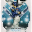 2015 Topps Stadium Club Triumvirate Luminous Javier Baez