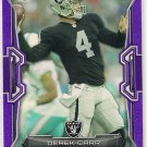 2015 Bowman Purple Derek Carr
