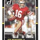 2016 Donruss 1987 Classics Joe Montana