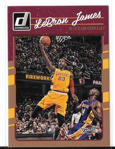 2016-17 Donruss LeBron James