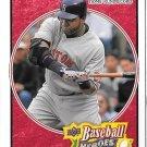 2008 Upper Deck Baseball Heroes Red David Ortiz 202/249