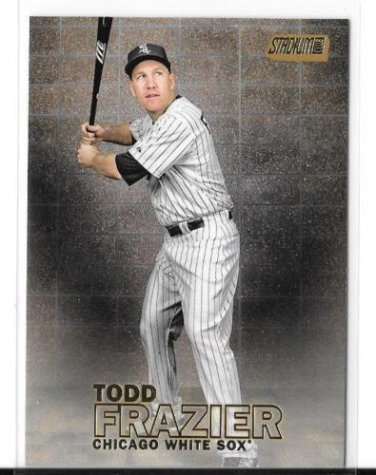 2016 Stadium Club Gold Todd Frazier