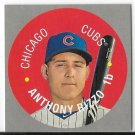 2017 Topps Heritage 1968 Mini Disc Anthony Rizzo