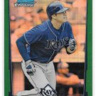 2012 Bowman Chrome Green Refractor Evan Longoria