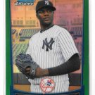 2012 Bowman Chrome Green Refractor Michael Pineda