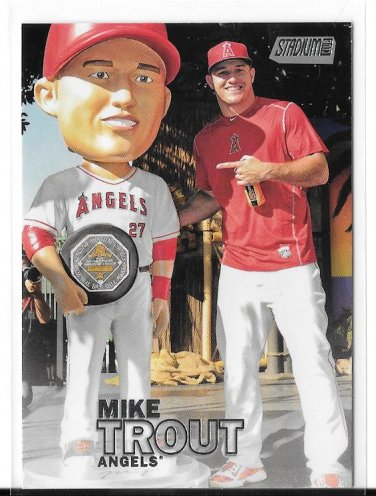 2016 Stadium Club Mike Trout