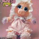 Muppet Baby Sewing Pattern Miss Piggy Doll 17 Inch Clothing 80s Vintage Vogue 599