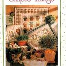 Cabbage Rose Quilt Design Pattern Pinwheel Stars Heart Hens YoYo Fruit Birds Welcome