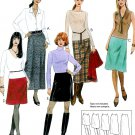 McCall's Sewing Pattern Skirts Quick Easy Short Long 5 Lengths Straight A-Line 4-10 3341
