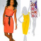 Summer Dress Sewing Pattern Easy Sleeveless Trendy Mod Above Knee 5425 6-14