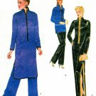 Vogue YSL Sewing Pattern Kimono Tunic Top Pants Dress Loose Mandarin Collar Floor Length 2337 14