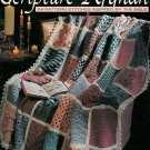 Leisure Art Scripture Afghan Crochet Throw Pattern Stitches How To Cross Crown Star Heart Trinity
