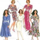 Slim Fitting Dress Sewing Pattern Vintage Sweetheart Neck Ankle Knee Length Sexy Vintage 7610 10-16
