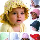 Toddler Baby Hat Sewing Pattern Beach Sunhat Ball Cap Bonnet Boy Girl Infant 4478
