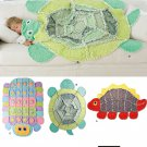 Turtle Dinosaur Caterpillar Rag Quilt Sewing Pattern Child Throw Baby Blanket Animal Nursery 2493