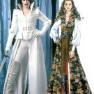 Halloween Costume Pattern Pirate Medieval Renaissance Gothic Coat Corset Peasant Top 6819 6-14