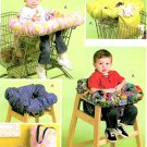 Shopping Cart High Chair Cover Sewing Pattern Twin Single Easy Storage Bag 5721
